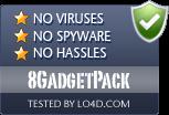 8GadgetPack is free of viruses and malware.