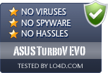 ASUS TurboV EVO is free of viruses and malware.