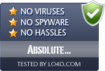 Absolute Uninstaller is free of viruses and malware.