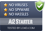 Ai2 Starter is free of viruses and malware.