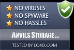 Anvils Storage Utilities is free of viruses and malware.