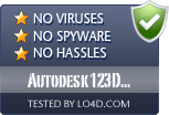 Autodesk 123D Design is free of viruses and malware.
