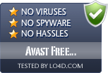 Avast Free Antivirus is free of viruses and malware.