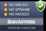 Baidu Antivirus is free of viruses and malware.