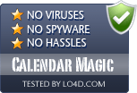 Calendar Magic is free of viruses and malware.