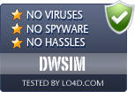 DWSIM is free of viruses and malware.