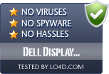 Dell Display Manager is free of viruses and malware.