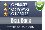 Dell Dock is free of viruses and malware.
