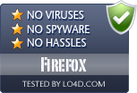 Firefox is free of viruses and malware.