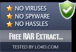 Free RAR Extract Frog is free of viruses and malware.