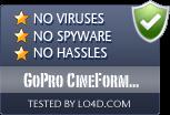 GoPro CineForm Studio is free of viruses and malware.