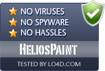 HeliosPaint is free of viruses and malware.