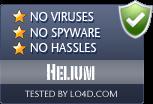 Helium is free of viruses and malware.