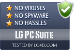 LG PC Suite is free of viruses and malware.