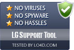 LG Support Tool is free of viruses and malware.