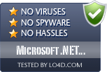Microsoft .NET Framework Extended is free of viruses and malware.