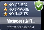 Microsoft .NET Framework is free of viruses and malware.