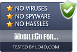 MobileGo for Android is free of viruses and malware.