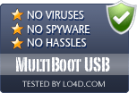 MultiBoot USB is free of viruses and malware.