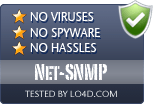 Net-SNMP is free of viruses and malware.