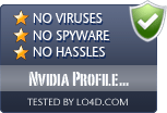 Nvidia Profile Inspector is free of viruses and malware.