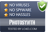 Photosynth is free of viruses and malware.