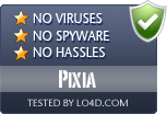 Pixia is free of viruses and malware.
