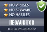 RegAuditor is free of viruses and malware.