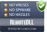 RemoteDLL is free of viruses and malware.