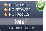 SainT is free of viruses and malware.