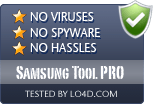 Samsung Tool PRO is free of viruses and malware.