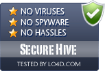 Secure Hive is free of viruses and malware.