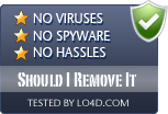 Should I Remove It is free of viruses and malware.