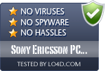 Sony Ericsson PC Suite is free of viruses and malware.