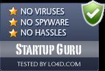 Startup Guru is free of viruses and malware.