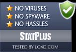 StatPlus is free of viruses and malware.
