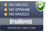 SymMover is free of viruses and malware.