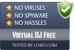 Virtual DJ Free is free of viruses and malware.