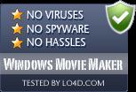 Windows Movie Maker is free of viruses and malware.