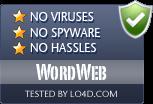 WordWeb is free of viruses and malware.