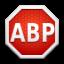 AdBlock Plus for Firefox Icon