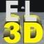 Eagle Lander 3D Icon