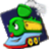 Cartoon Xonix Icon