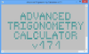 Advanced Trigonometry Calculator - Screenshot 1