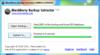 BlackBerry Backup Extractor - Screenshot 1