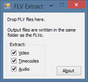 FLV Extract - Screenshot 1