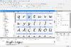 FontCreator - Screenshot 1