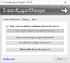 InstantLogonChanger - Screenshot 1