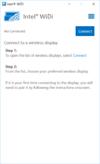Intel WiDi - Screenshot 1