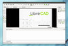 LibreCAD - Screenshot 1